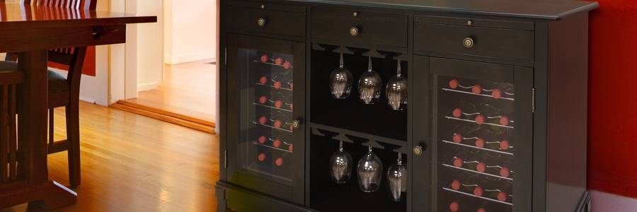 Furniture–Style Wine Cabinets
