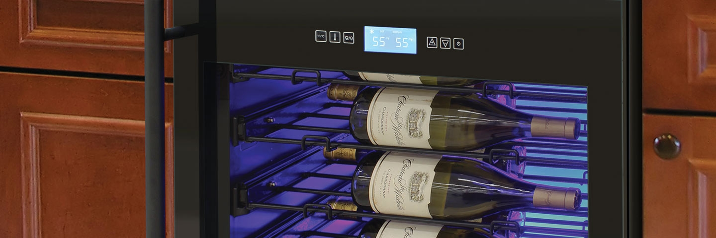 Touch Screen Wine Refrigerators and Coolers