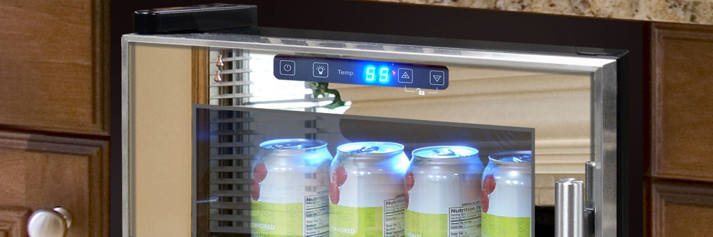 All Touch Screen Wine Refrigerators and Coolers