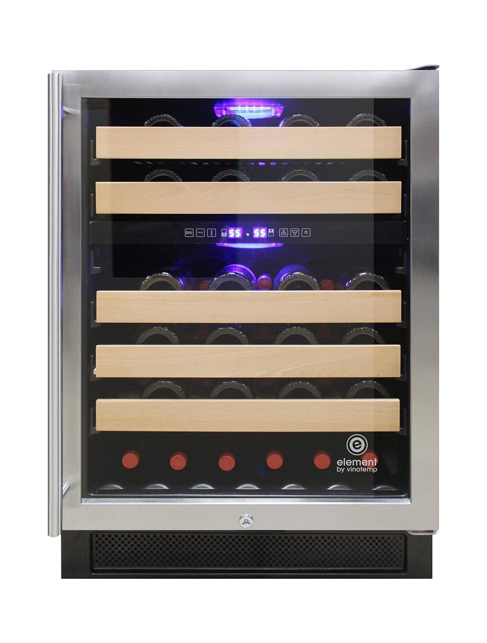 46-bottle wine refrigerator