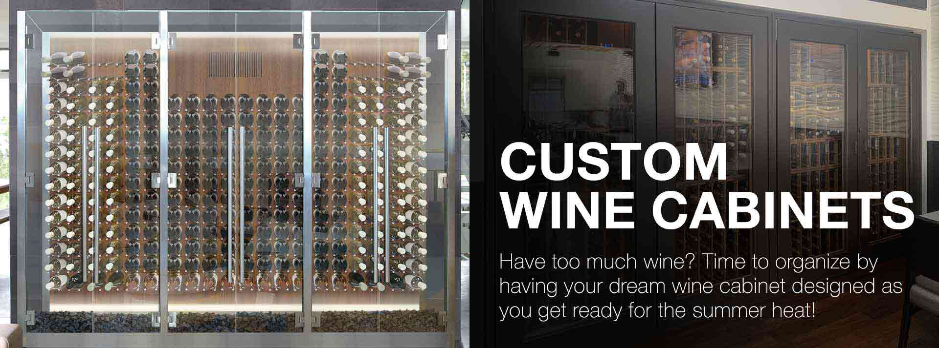 start a custom wine cabinet project