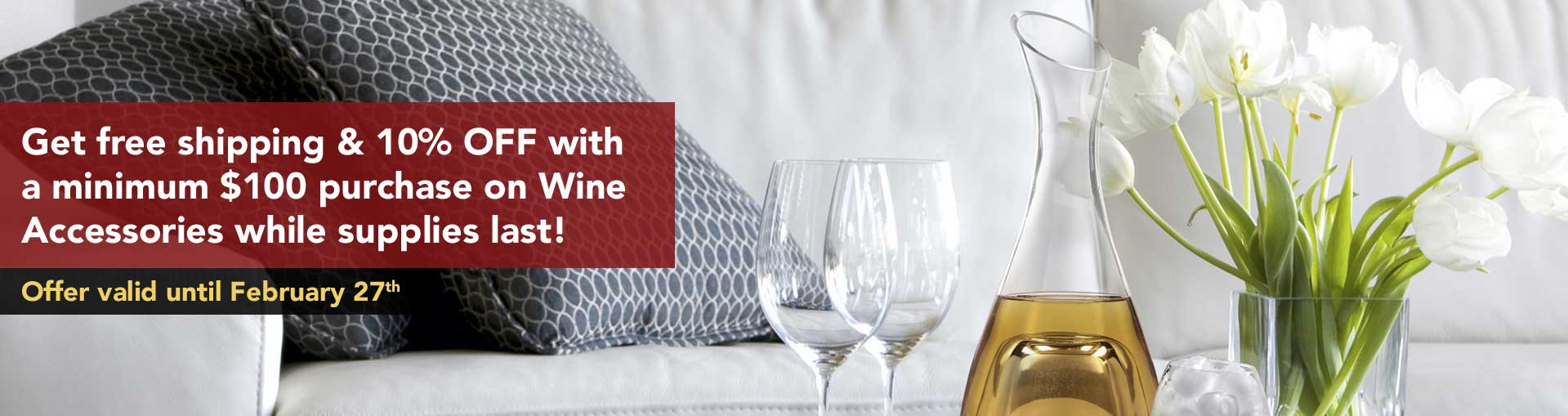 Free Shipping &10% OFF Wine ACCESSORIES