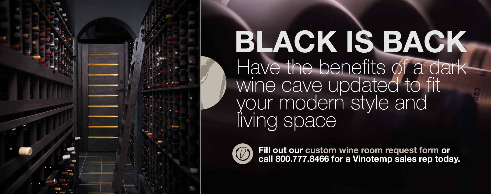 custom black cellar