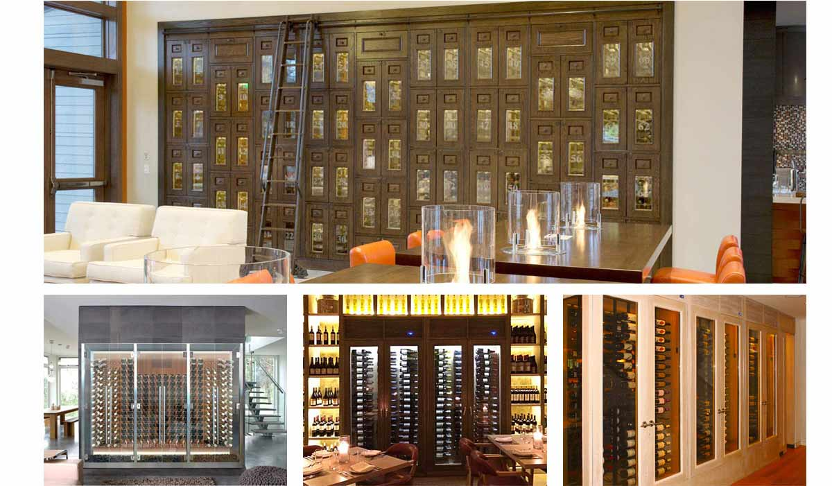 Commercial Wine Cabinets