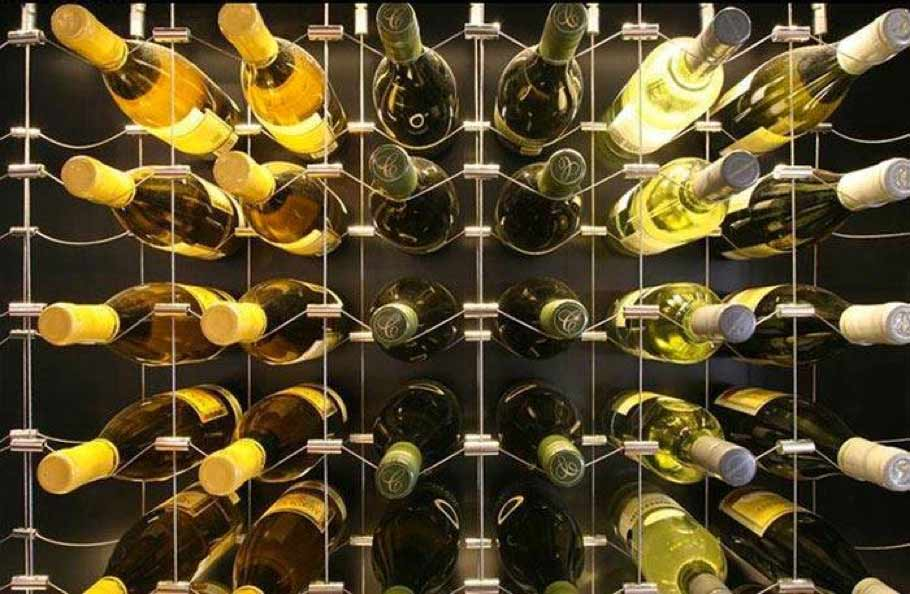 speciality metal wine racks