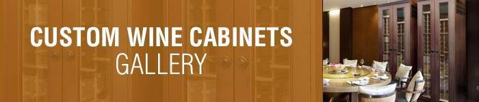 Custom Wine Cabinets Gallery
