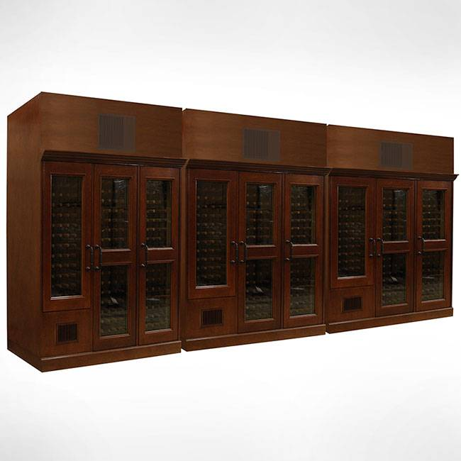 Custom Wood & Glass Cabinets Thumbnail 2