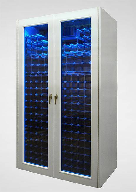 Custom Aluminum Blue LED Cabinet Thumbnail 2