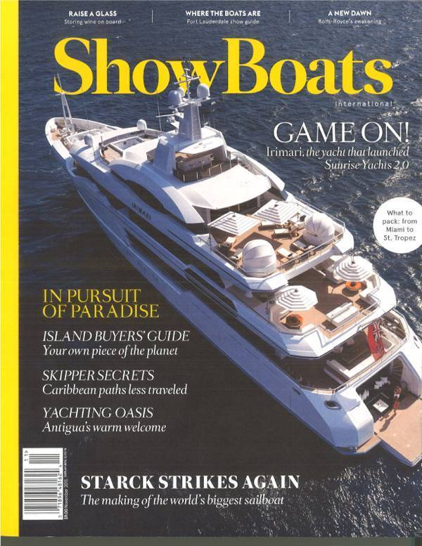 Featured in Show Boats International