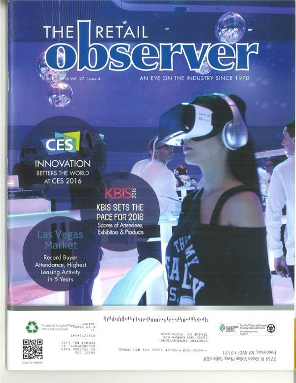As shown in The Retail Observer