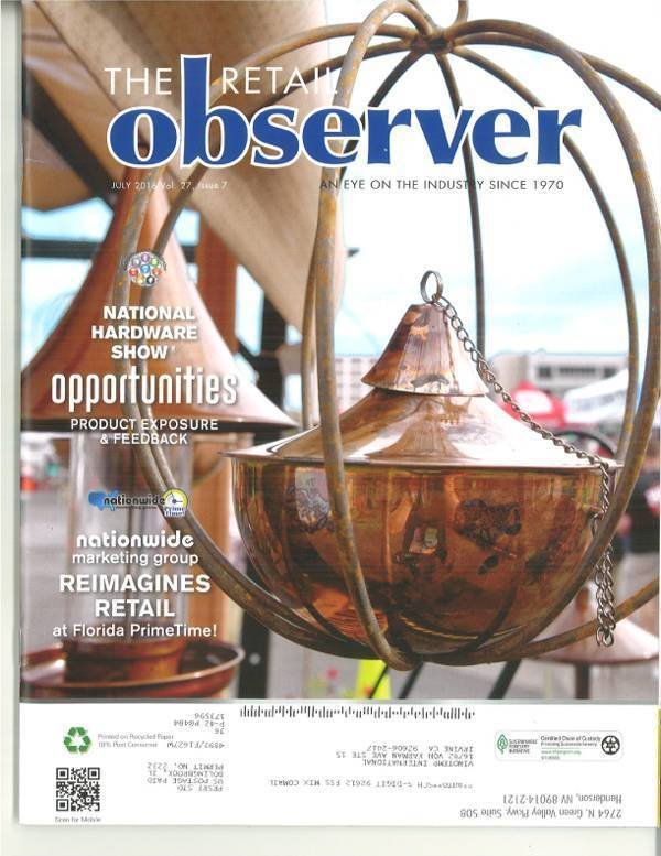 The Retail Observer featuring the VT-DS24WC-WM