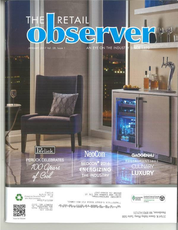 "Kevin Henry ""The New Wine Matrix"" as featured in The Retail Observer"