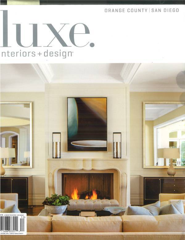 The Designer Series 300 featured in Luxe magazine Orange County/San Diego
