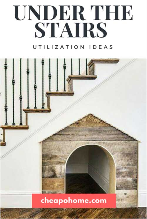 Cheapohome.com featuring Vinotemp in 10 Under the Stairs Utilization Ideas