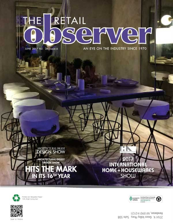 Vinotemp as featured in the Retail Observer 2017