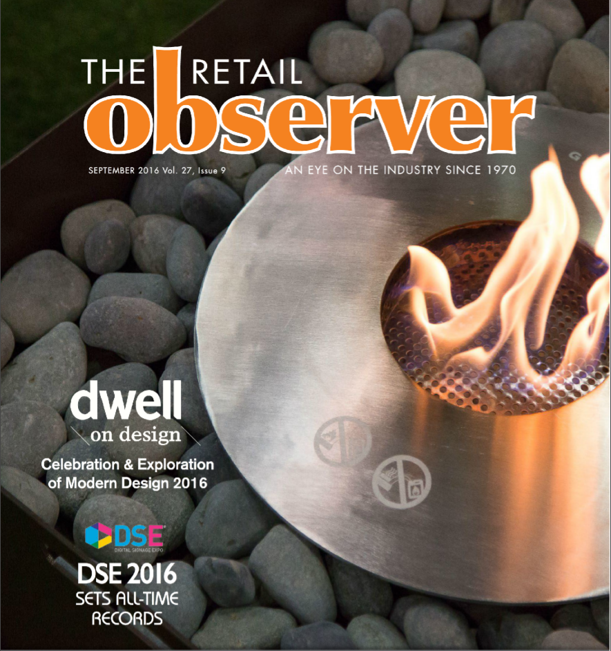 Vinotemp as featured in the Retail Observer