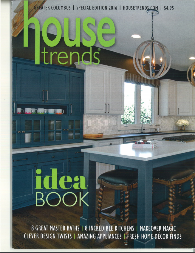 Vinotemp's Custom Aluminum Modular Understairs Cabinet featured in House Trends magazine