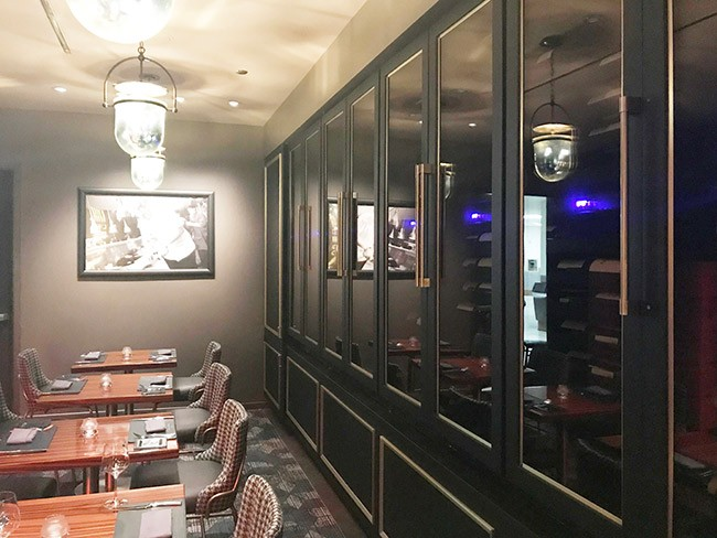 Custom Wine Cabinets<br>Gordon Ramsay Steak, Las Vegas Thumbnail 2