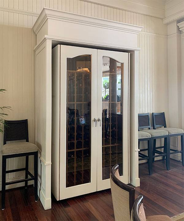 Custom Wine Cabinet, Moana Surfrider, Hawaii Thumbnail 2