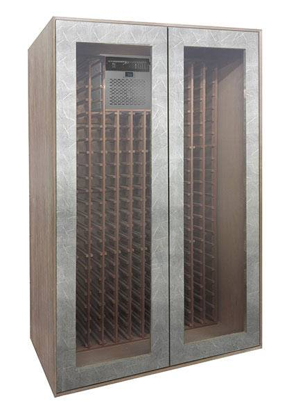Crackle Veneer Wine Cabinet Thumbnail 2