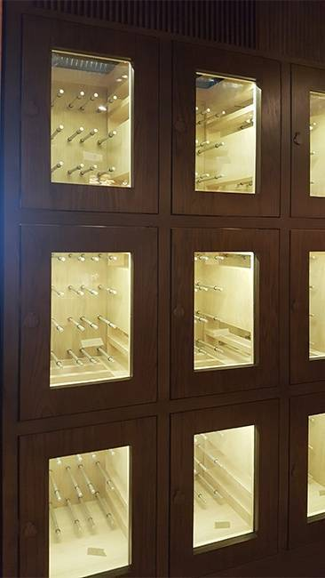 Wine Lockers with Peg Racking Thumbnail 2