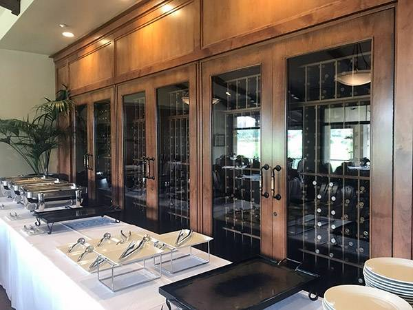 Installed Sonoma Wine Cabinets Thumbnail 2