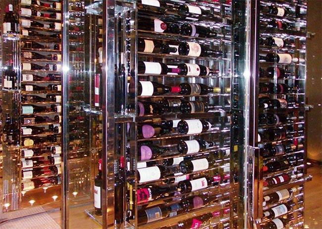 Custom Wine Cabinets: Hilton, Tucson Arizona Thumbnail 4