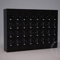 Custom 32 Cubicle Wine Locker (Option 2) Thumbnail 1