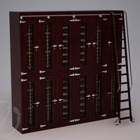 Custom Stacked Wine Locker (Option 1) Thumbnail 1