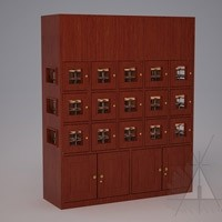 Custom 15 Cubicle Wine Lockers (Option 1) Thumbnail 1