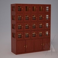 Custom 15 Cubicle Wine Lockers (Option 2) Thumbnail 1