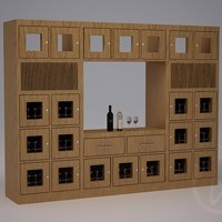 Custom Wine Lockers with Display Window Thumbnail 1