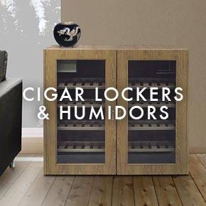 Cigar Cabinet and Humidors