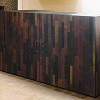 Wine Infused Credenza