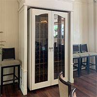 Custom Wine Cabinet, Moana Surfrider, Hawaii Thumbnail 1