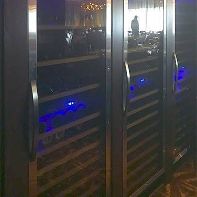 Ruth's Chris Restaurant with Installed Wine Coolers Thumbnail 1