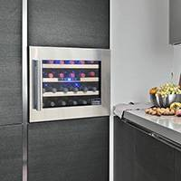 Vt Ds24wc Wm 24 Bottle Seamless Wall Mounted Wine Cooler