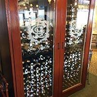 La Jolla Country Club, CA, Wine Cabinet Thumbnail 1