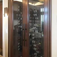 Newport Country Club Wine Glass Cabinet Thumbnail 1