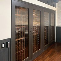 Custom Wine Cabinets