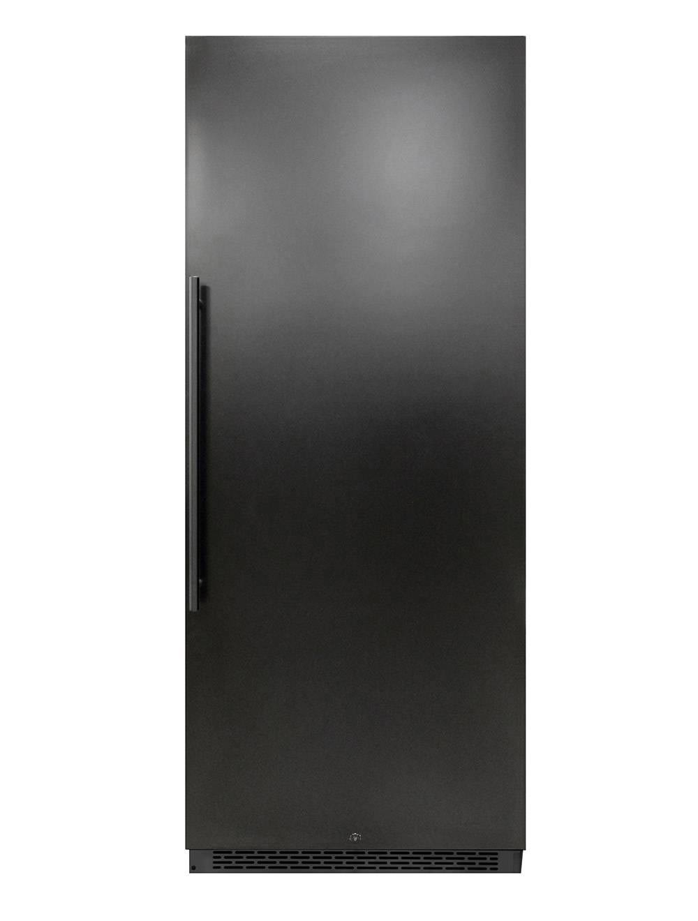 black 300-Bottle Dual-Zone Wine Cooler