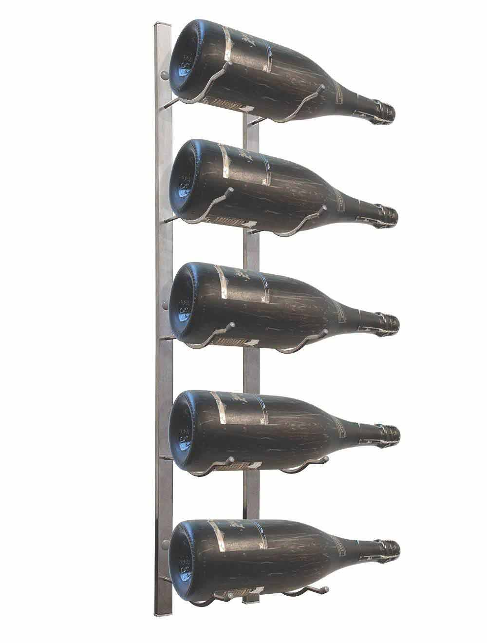 metal rack for magnum bottles