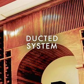Ducted Wine Cooling System