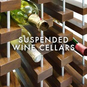 Suspended Wine Cellars