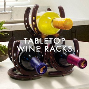 Tabletop Wine Racks