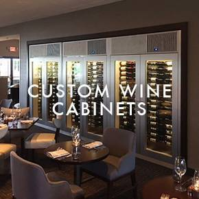 Custom Wine Cabinets Commercial ...