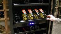 149 Bottle Seamless Dual-Zone Wine Cooler Video